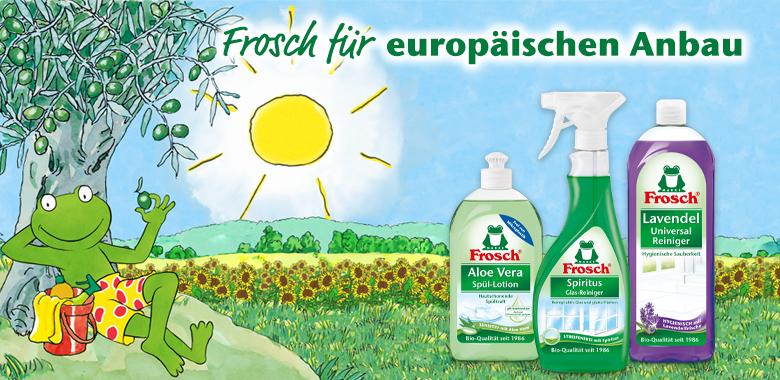 Frosch für ein europäischen Anbau