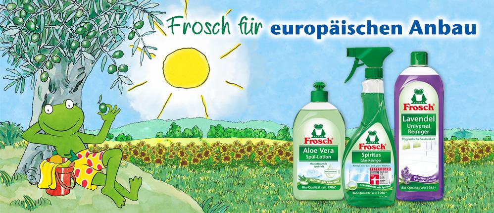 Frosch für europäischen Anbau