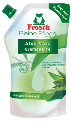 Reine Pflege Aloe Vera Cremeseife Nachfüllbeutel