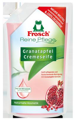 Reine Pflege Granatapfel Cremeseife Nachfüllbeutel