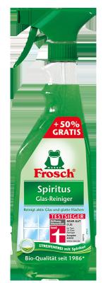Spiritus Glas Reiniger Sprühflasche Sondergröße + 250ml gratis