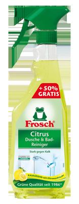 Citrus Dusche & Bad Reiniger Sondergröße + 250ml gratis