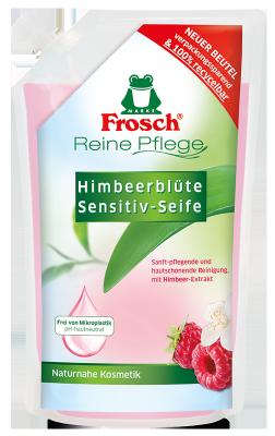 Reine Pflege Himbeerblüte Sensitiv-Seife