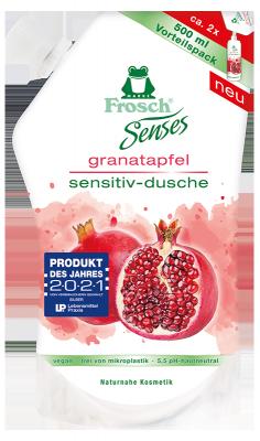 Senses Granatapfel Sensitiv-Dusche Nachfüllbeutel