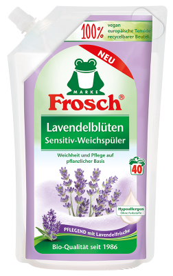 Frosch Lavendelblüten Sensitiv-Weichspüler 1L