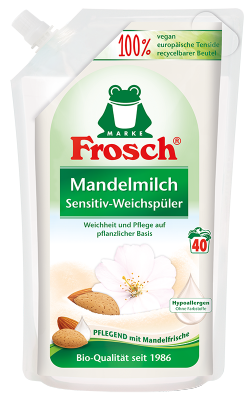 Frosch Mandelmilch Sensitiv-Weichspüler 1L