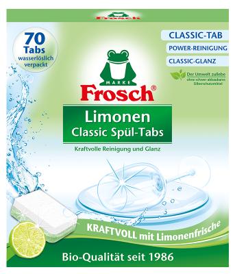 Frosch Limonen Classic Spül-Tabs