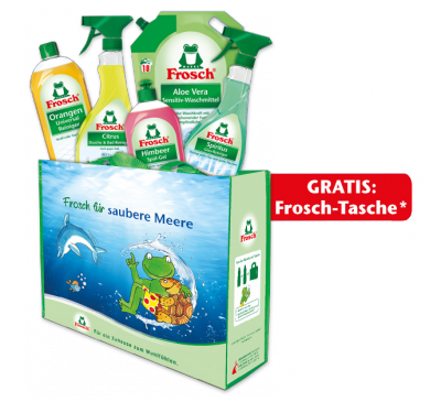 Froschiges Vorteils Putzpaket