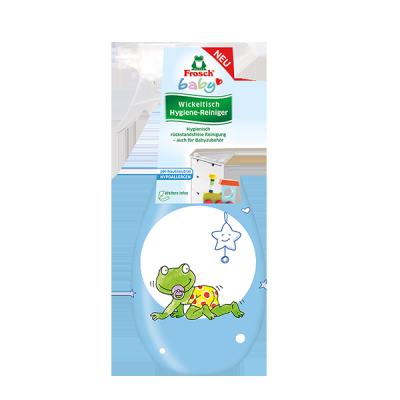 Frosch Baby Wickeltisch Hygiene-Reiniger 400ml BLAU