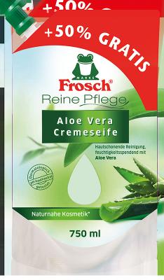 Reine Pflege Aloe Vera Cremeseife Nachfüllbeutel 750 ml