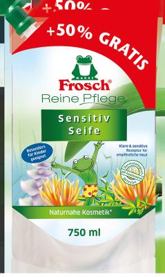 Reine Pflege Sensitiv Seife 750 ml Nachfüllbeutel