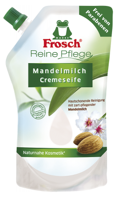 Reine Pflege Mandelmilch Cremeseife Nachfüllbeutel