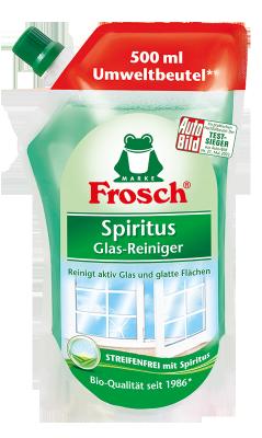 Spiritus Glas-Reiniger Nachfüllbeutel