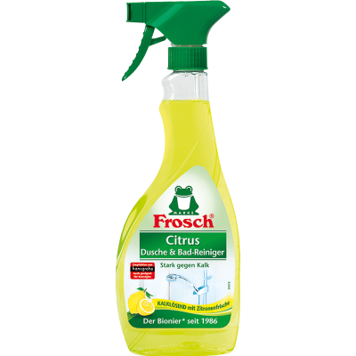 Citrus Dusche & Bad Reiniger Sprühflasche