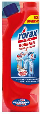 Rohrfrei Power-Granulat Dosierflasche